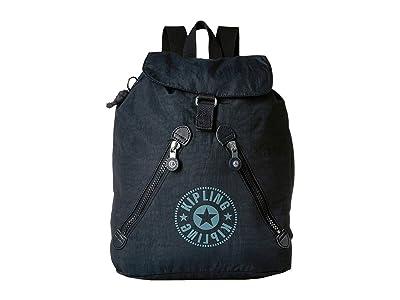 Kipling Fundamental Backpack (Lively Navy) Backpack Bags