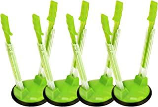 Jokari Hands-Free Baggy Rack Storage Bag Holder Pack of 4 Green