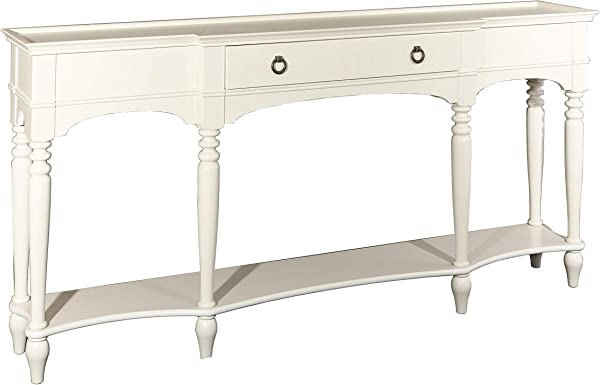 Powell S Furniture D1015A16W Henley White Console Table