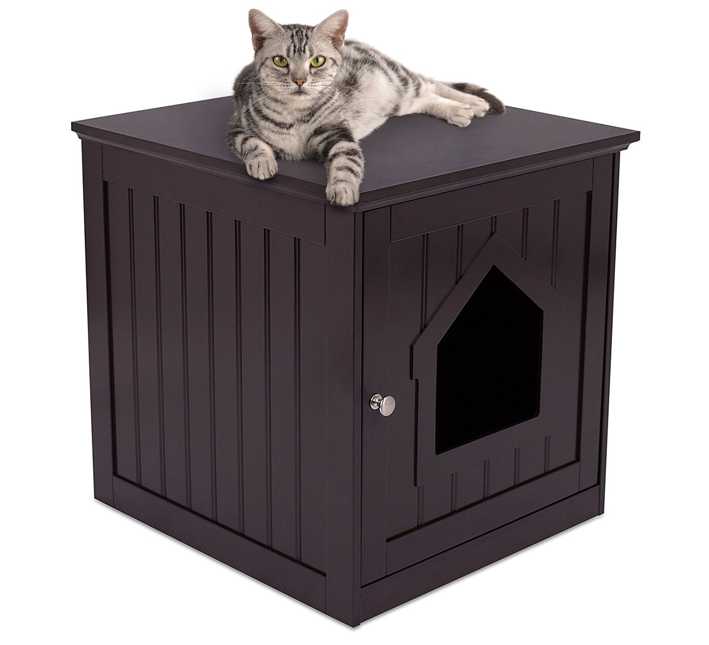 Internets Best Decorative Nightstand Enclosure