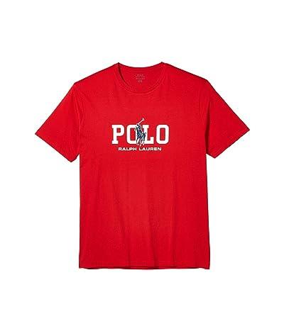 Polo Ralph Lauren Big & Tall Big Tall 26/1 Jersey Short Sleeve Classic Fit T-Shirt (RL 2000 Red) Men