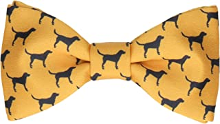 Labradors Quirky Pre Tied, Self Tying Bow Ties