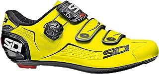 yellow sidi cycling shoes