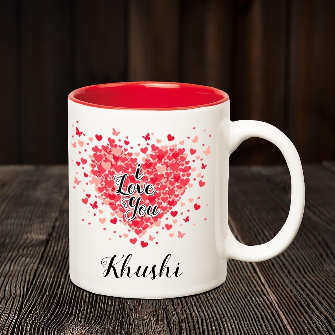Buy Huppme I Love You Khushi ...