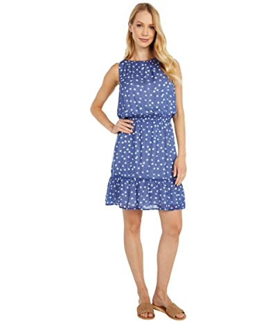 bella dahl Shirred Halter Dress (Navy) Women