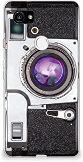CasesByLorraine Google Pixel 2 XL Case, Vintage Style Camera Case [for Men & Women] Flexible TPU Soft Gel Protective Cover...