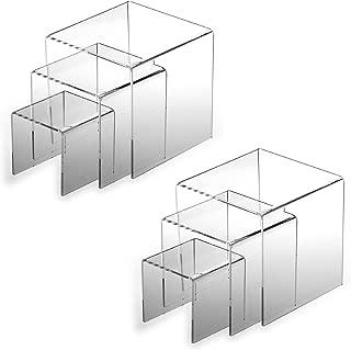 Adorox 2 Set Acrylic Display Riser