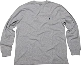 Polo Ralph Lauren Mens Long Sleeve Crew Neck T-Shirt Pocket Classic Fit
