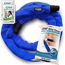 RespLabs CPAP Hose Cover, Tube Wrap. Reusable Fleece Tubing Insulator with Zipper, 6 Foot