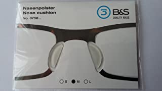 1 Pair Nose Pad Cushion for extra comfort eye glasses 3 Sizes Available (0758)