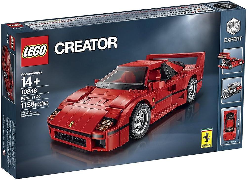 Lego,ferrari f40,1158 pezzi LEGO Creator Expert Ferrari F4