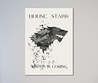 Game of Thrones House Stark Sigil Print