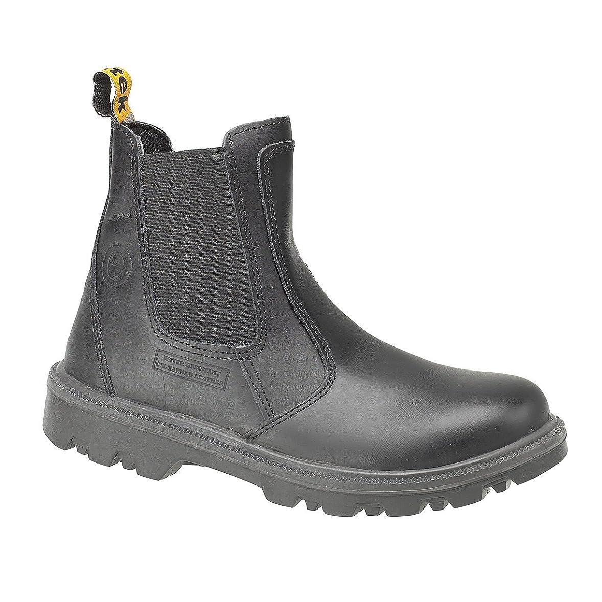 エミュレートする章バナナ(12 UK, Black) - Centek FS129 Safety Dealer / Mens Boots / Dealers Safety