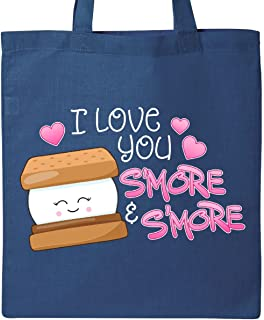 Inktastic I Love You S'more and S'more Tote Bag