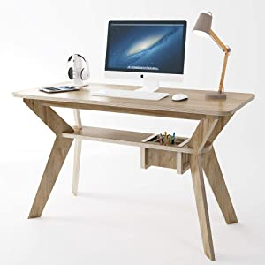 Small Desk for Home Office, Study, Bedroom or Compact Space. Desks Size: 47