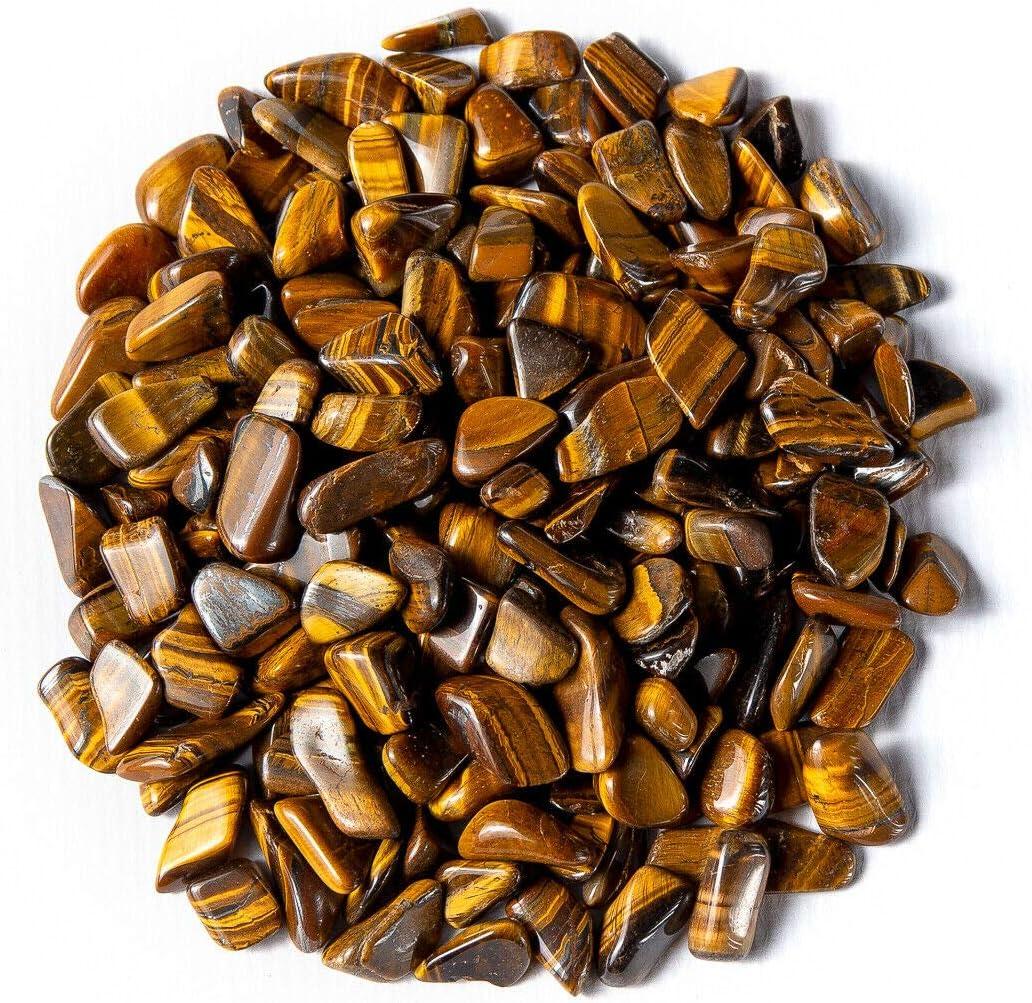 115-180 Stones Rock Max 49% OFF Specimens 1 Lb outlet Eye Golden Tumbled Tigers Ge