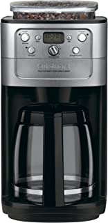 Cuisinart DGB-700BC Grind & Brew 12 Cup Coffeemaker, Chrome
