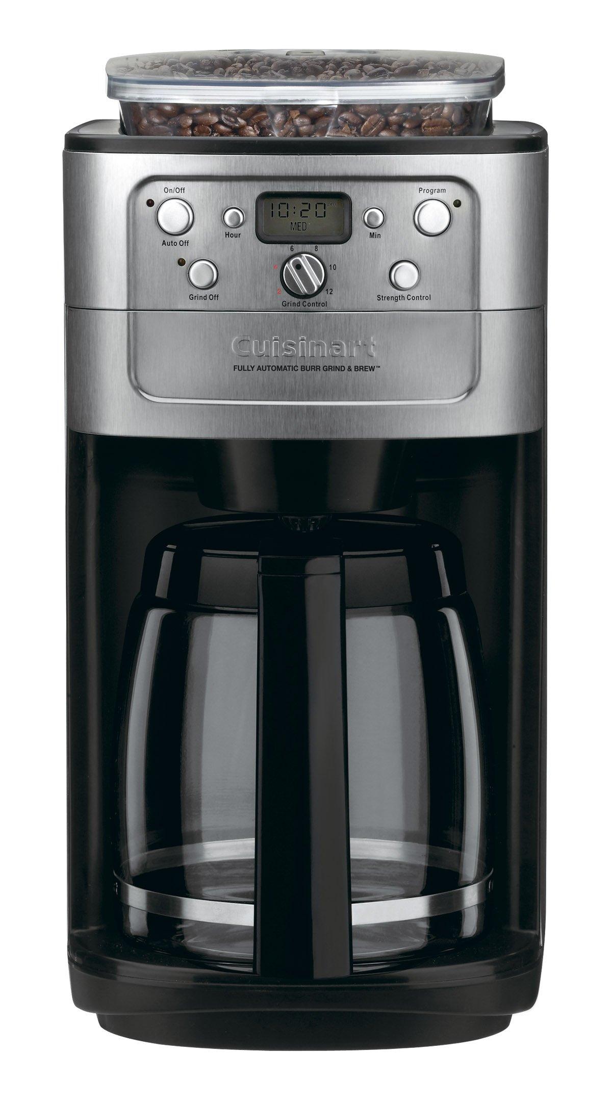 Cuisinart DGB 700BC Grind Coffeemaker Chrome