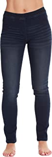 Denim Jeggings for Women with Pockets Comfortable Stretch...