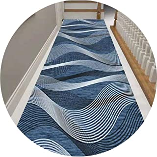 HAIPENG Abstract Hallway Runner Rug with Non Skid Backing, Narrow Area Rugs for Hall Staircase Entrance Carpet, Custom Siz...
