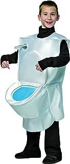 Kids Toilet Costume White