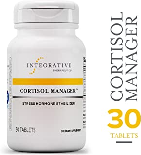 Cortisol Manager - Integrative Therapeutics - Sleep, Stress, and Cortisol Support Supplement* with Ashwagandha, Magnolia, and L-Theanine - Support Adrenal Health* - Vegan - 30 Count Tablets