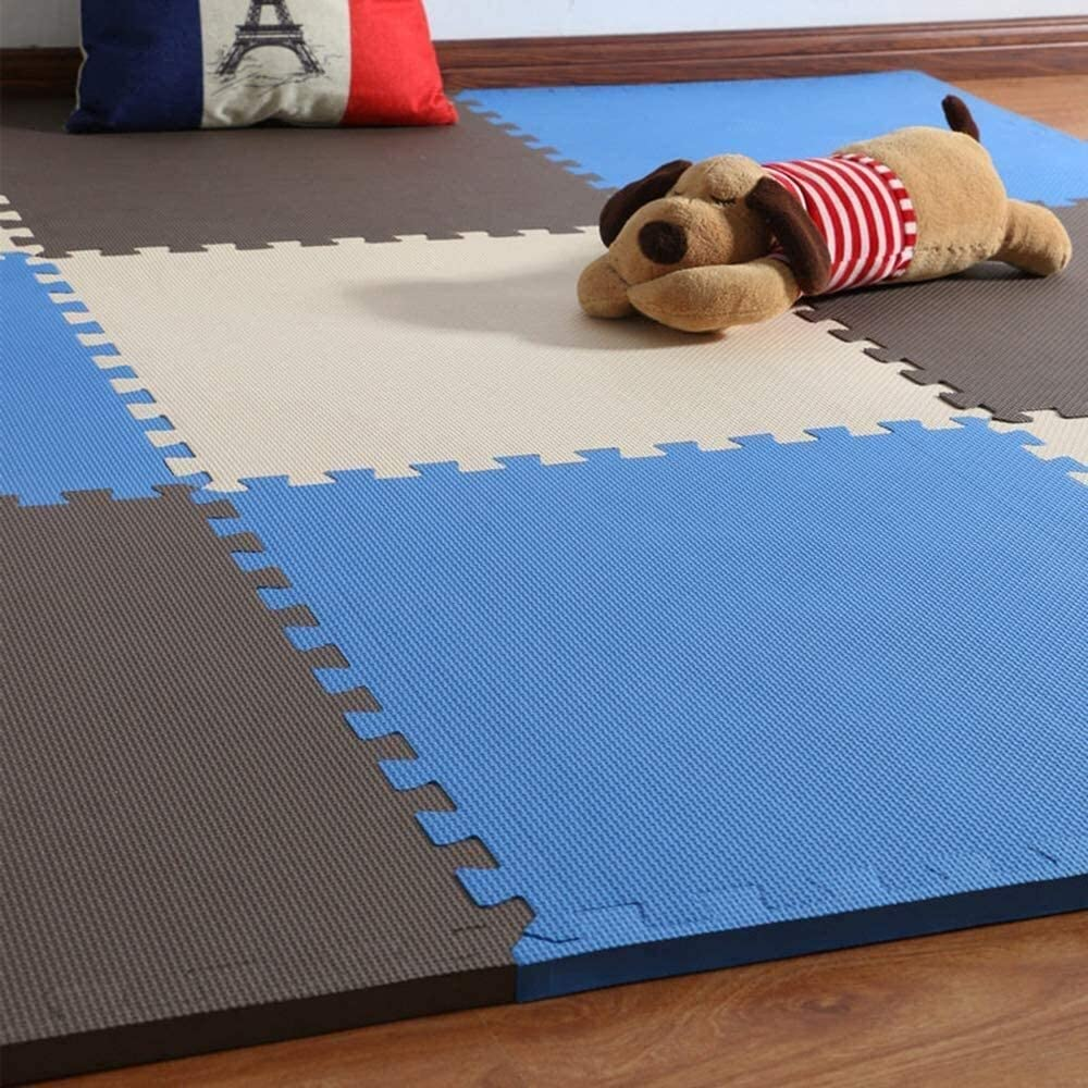 Puzzle Play Mats exercise mat Ranking integrated 1st place The Gym water-and New Shipping Free nois