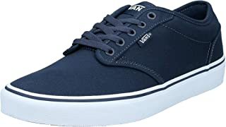 Vans Men's Atwood Trainers, Canvas Navy White, 9.5 UK