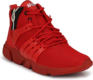 AFROJACK Men's Air Zip Mesh Running Shoes/Trainers/Gym Shoes