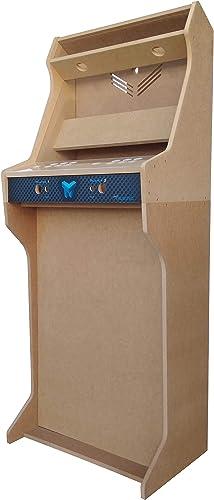 muchas sorpresas TALENTEC Kit bartop + + + Pedestal 19  en Madera DM + metacrilato acrílico para máquina recreativa Arcade DIY. Orificios de 28 mm para joysticks y Botones.  ventas al por mayor