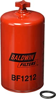 Baldwin BF1212 Heavy Duty Diesel Fuel Spin-On Filter (Pack of 6)