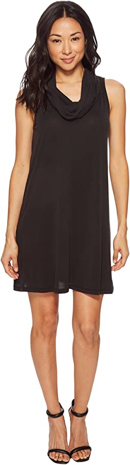 American Rose - Charlotte Sleeveless Cowl Neck Dress