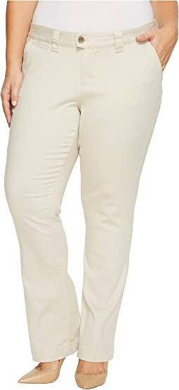 Plus Size Standard Trousers in Divine Twill