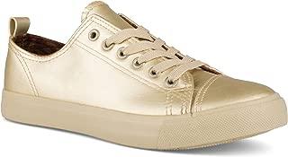 Twisted Women's Low Top Faux Leather Sneaker