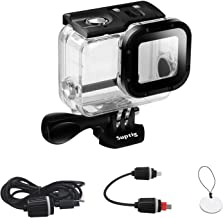 Suptig Case Replacement Waterproof Case Protective Housing for GoPro Hero 7 Black Hero 6 Gopro Hero 5 Sport Camera for Underwater Charge Use Water Resistant up to 164ft (50m)