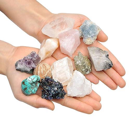 Raw Crystals and Healing Stones: Amazon com