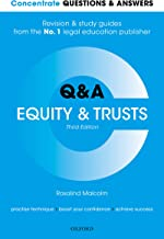Concentrate Questions and Answers Equity and Trusts: Law Q&A Revision and Study Guide (Concentrate Questions & Answers)