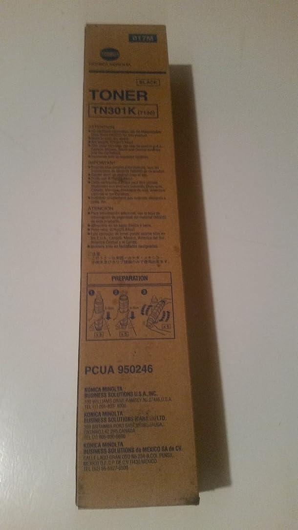 Konica-Minolta TN301K OEM Copier Toner: Black 950-246