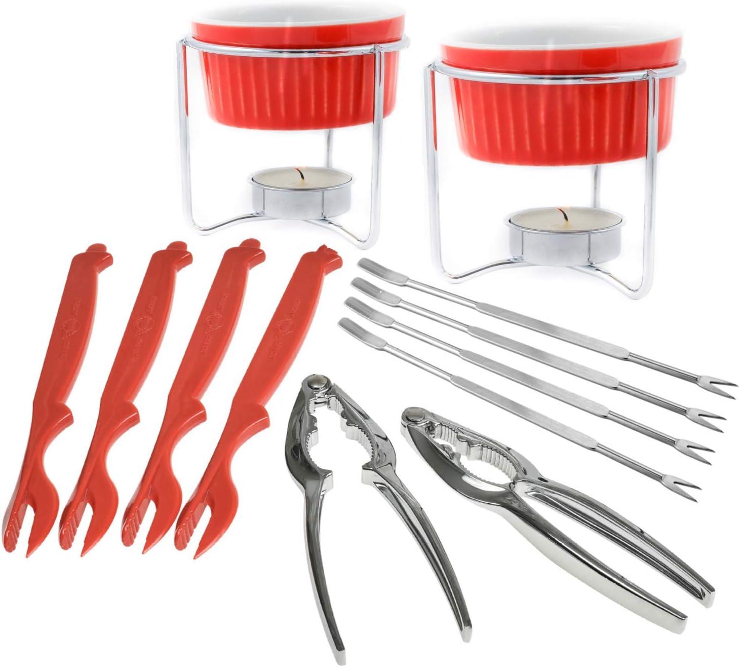 Crabaholik Seafood Tools Price reduction Set: 12pcs Utensils K Inventory cleanup selling sale Cracking Crab Leg