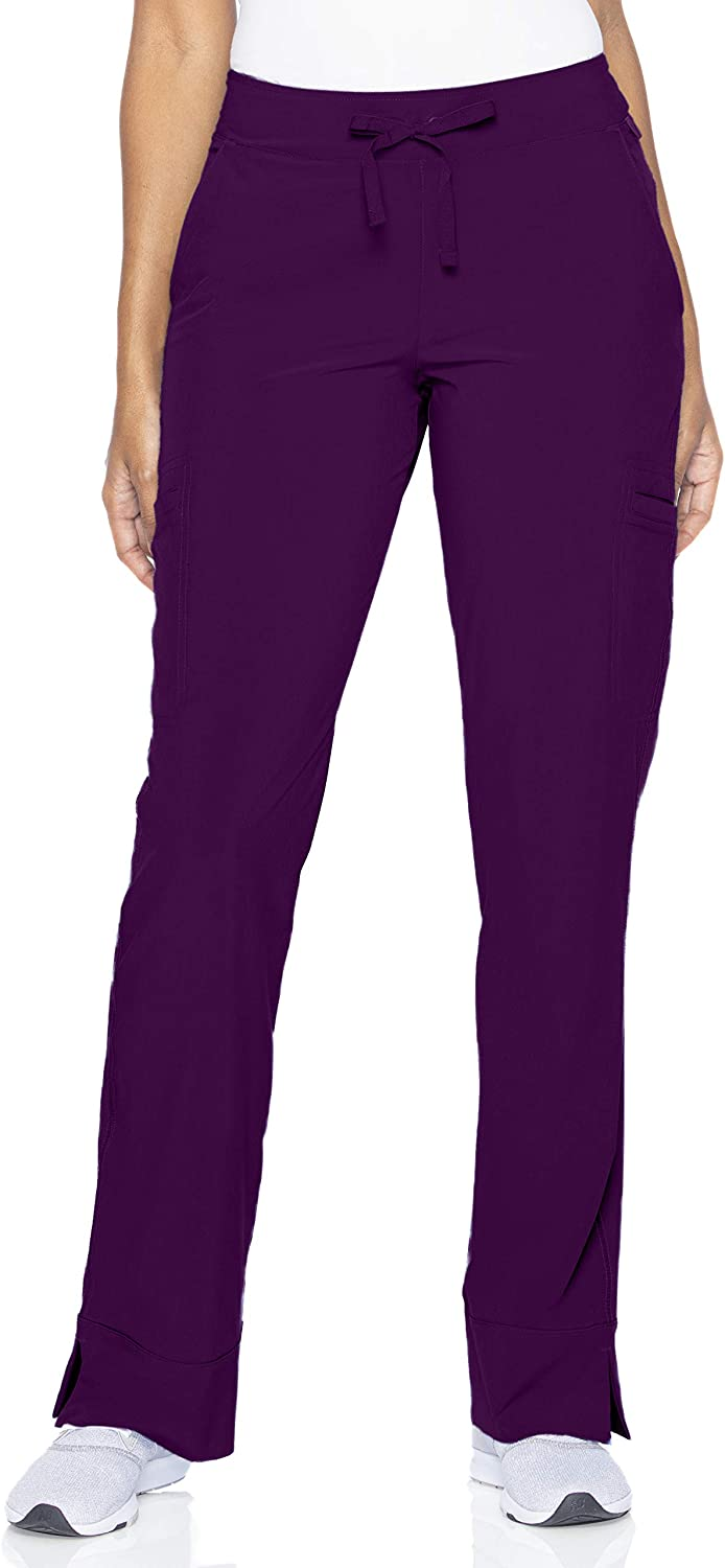 Smitten Women's Max 86% OFF Petite Limited Special Price Hottie Slim-fit Scrub Pants S201 4-Pocket