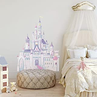 RoomMates Disney Princess Castle Peel and Stick Giant Wall Decal – RMK1546GM