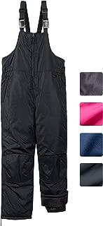 CHEROKEE Boys & Girls Insulated Snow Bib Ski Pants (Toddler, Little and Big Kids)