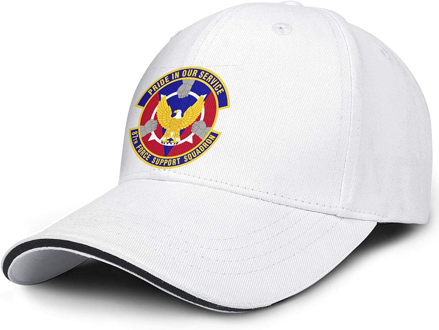 Unisex 8th-Force-Support-Sq-Emblem- Hats Ball Cap Cheap sale Beauty products