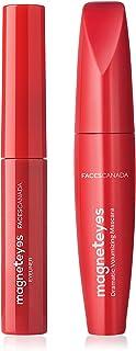 Faces Canada Line & Lash Value Set, Eyeliner(Black) & Mascara (Black), 250