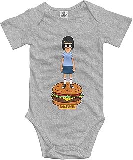 Bobs-Tina-Burger Unisex Baby Bodysuits Cute Onesies Favourite
