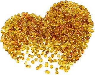 amber pebbles