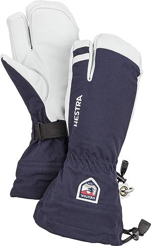 Hestra Leather Heli de ski Bleu marine