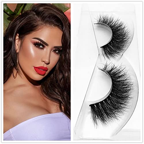 c4b5ae59697 Miss Kiss Brand Thick Mink lashes Hand-made False Lashes Stirp Reusable  100% Siberian