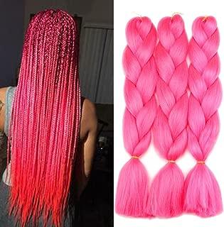 Best hot pink kanekalon hair Reviews