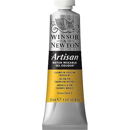 Winsor & Newton Artisan Water Mixable Oil Colour, 37ml Tube, Cadmium Yellow Medium